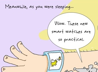 All this new technology can send you ratty – cartoon