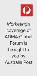 adma global forum, australia post