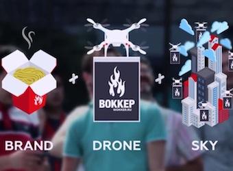 Brand + Drone + Sky = Drone-vertising