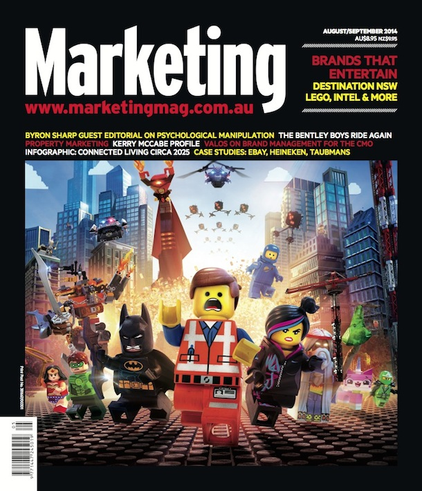 Marketing magazine cover August September 2014