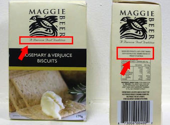 Maggie Beer in trouble with ACCC for misleading packaging claiming 'local' products