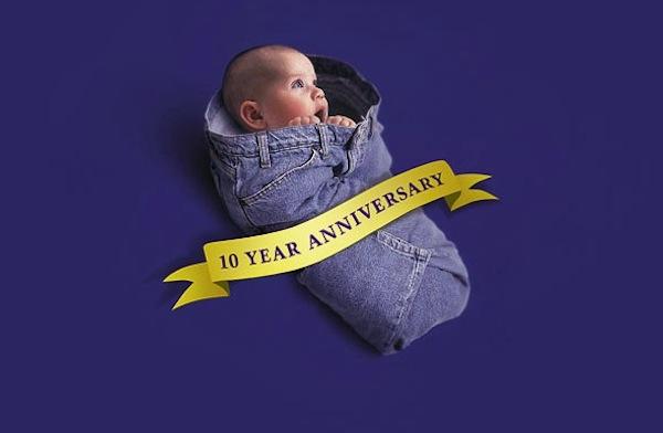 Past ad 10 year anniversary