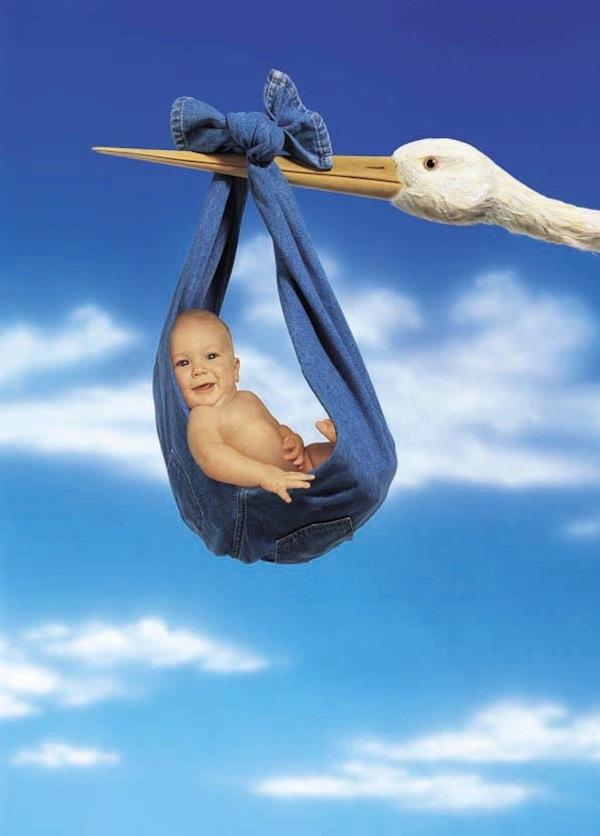 Stork historical ad