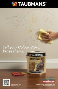 Taubmans print ad Colour Story