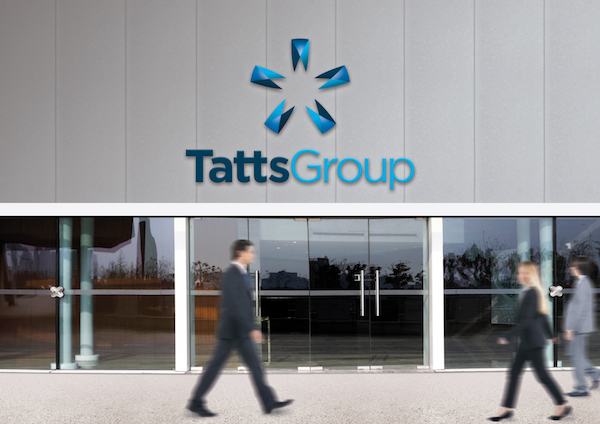 Tatts group building rebranded