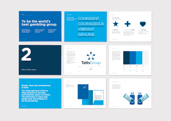 Tatts Group new collateral
