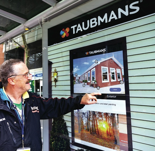 Taubmans outdoor advertising