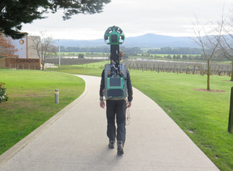 Tourism Victoria straps on Google's panoramic backpack camera to map popular destinations