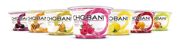 Chobani new flavour range