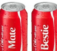 'Share a Coke' campaign increased US sales for the first time in a decade