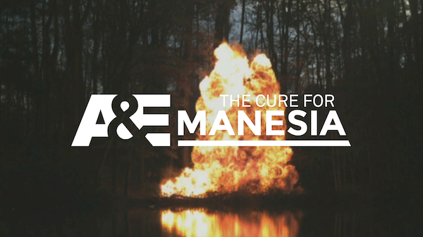 Cure for Manesia title -  Foxtel Mediacom A&E marketing case study