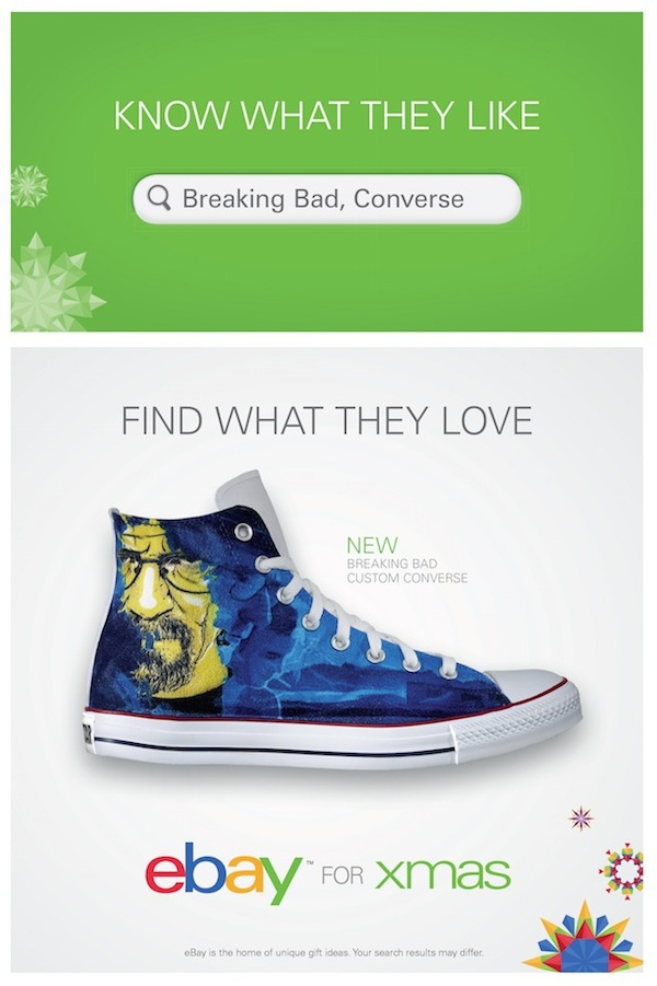 Ebay Australia marketing case study Christmas poster