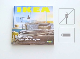 'It's not an ebook, it's a bookbook' – Ikea parodies Apple in ad for new catalogue