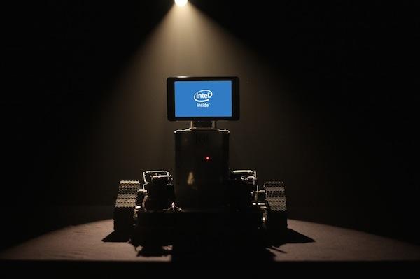 Intel Flume Intelligent Sounds robot face