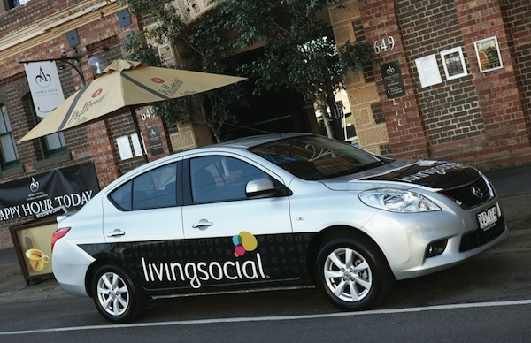 Nissan Almera Living Social daily deals car 1