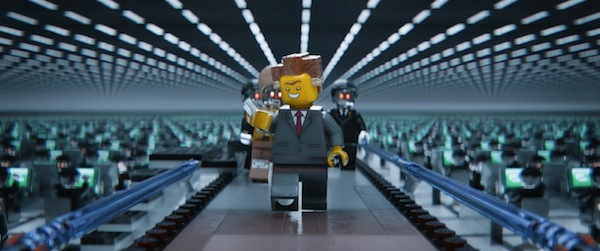 The Lego Movie - President Business - provided by Warner Bros Pictures in association with Village Roadshow Pictures and LEGO System AS