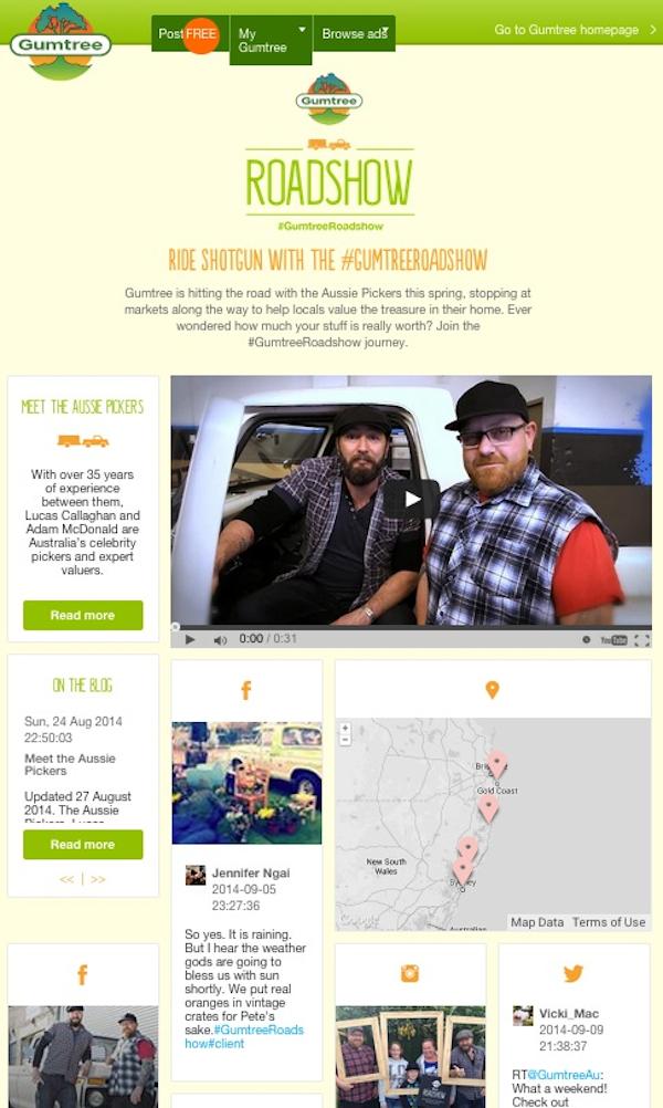 aussie pickers website