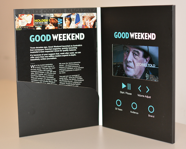 good weekend direct mail screen