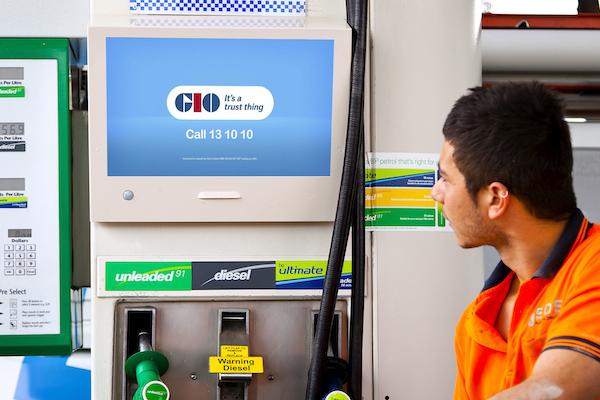 Petrol pump ad