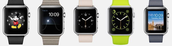 apple watch personalisation