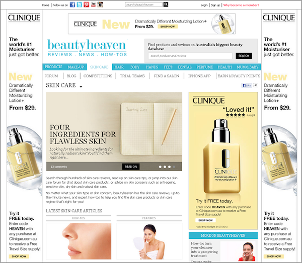 Beauty Heaven Site Takeover
