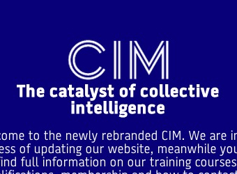 Chartered Institute of Marketing rebrands with a new identity and 'hackathon' to solve marketing's problems