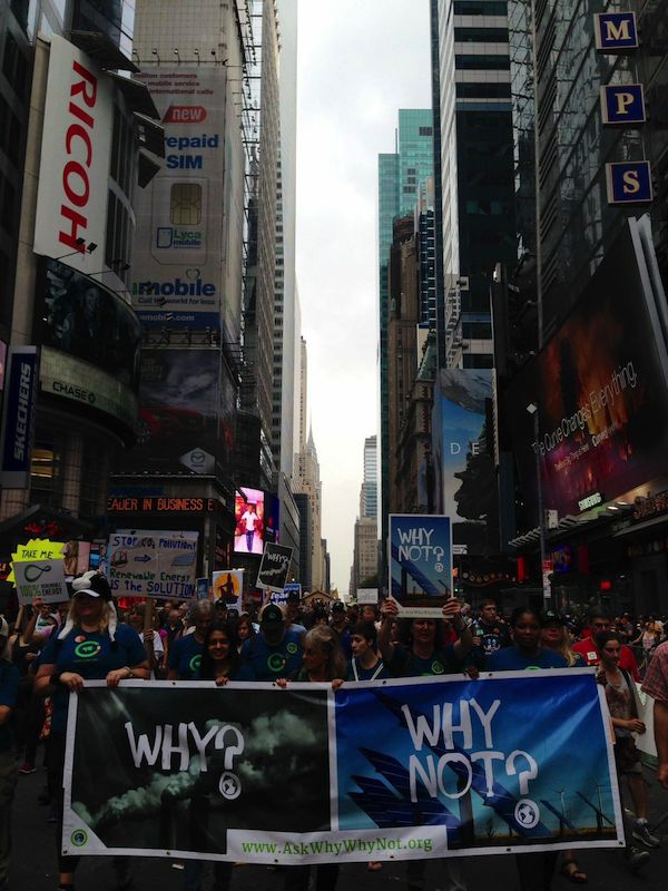 Climate March in New York 600w