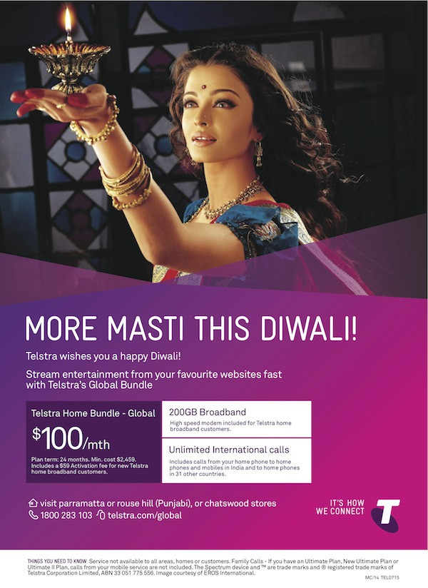 Telstra Diwali Creative