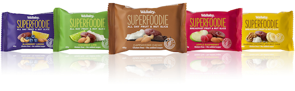 Wallaby Superfoodie packages