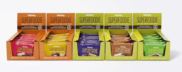Wallaby Superfoodie packaging trays