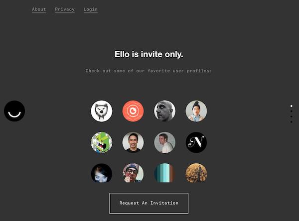 ello invite only