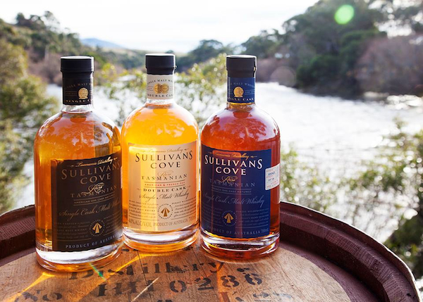 Sullivans Cove whiskies, including the world's best (blue)