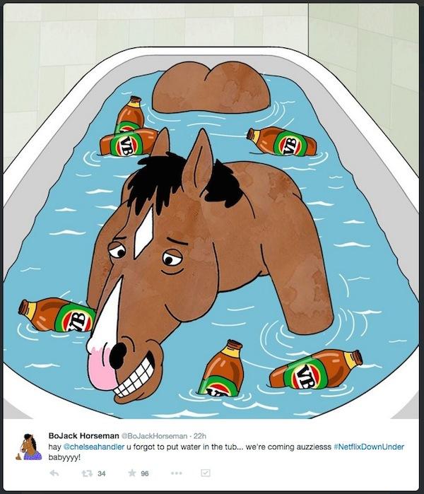 Bojack Horseman bath VB