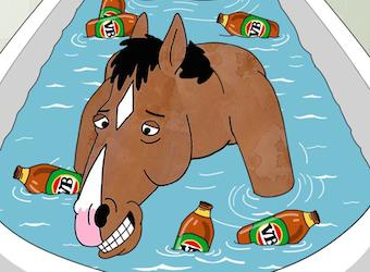 Did a drunk horse pre-empt Netflix's official Australia announcement?