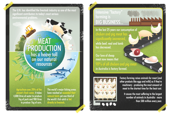 Meat Free Week 2 posters