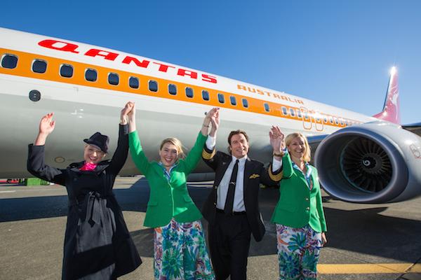 Qantas 1970s retro campaign 600w