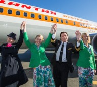 Qantas goes retro to celebrate flying kangaroo logo's 70th birthday