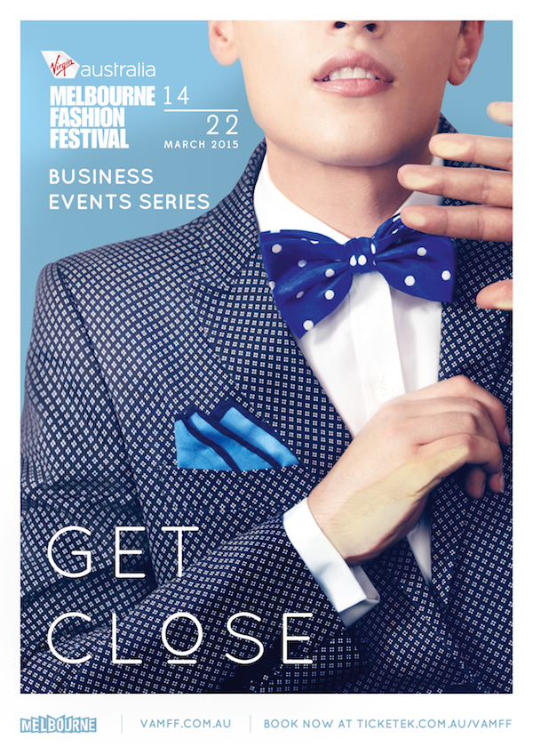 VAMFF Get Close campaign creative