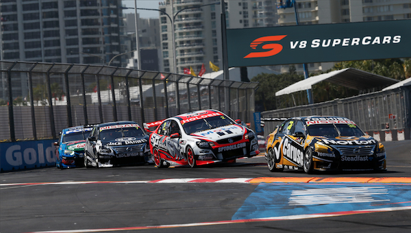 V8 Supercars with rebrand