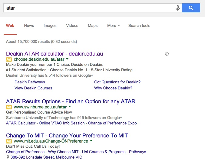 ATAR 2014 deakin search marketing screenshot 600w
