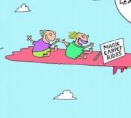 How to claim a cape as a business expense – cartoon