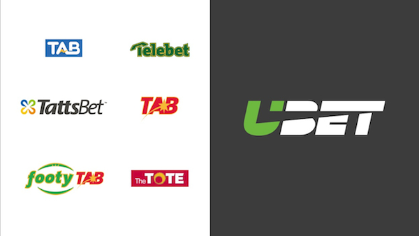 ubet rebrand old and new logos