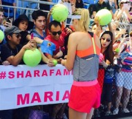 Tennis player Maria Sharapova is the most marketable female athlete in the world