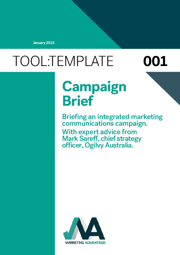 marketing campaign brief template - template briefing an imc campaign