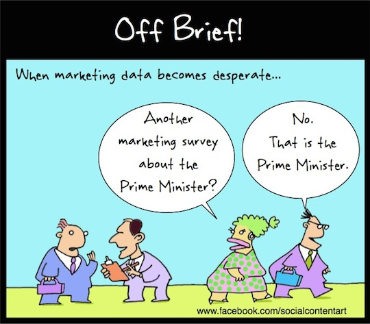 Abbott gets desperate for data – cartoon