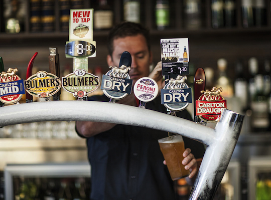 ACCC investigates beer giants for trying to muscle craft brews out of pubs