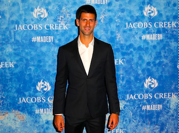 Jacob's Creek branded content shows an unseen side of Novak Djokovic