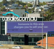 CarsGuide's cheeky billboard placement takes swipe at market leader