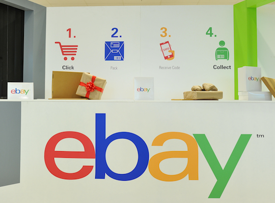 Woolworths and Ebay strike 'Click & Collect' delivery deal