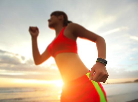 La pulsera de actividad registrará todos tus pasos